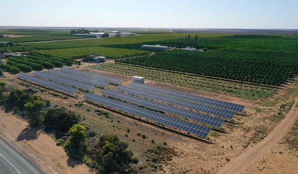 Red Mud Solar Installations