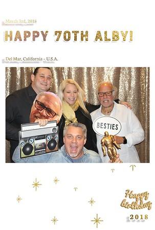 Alby's 70th Birthday Celebration