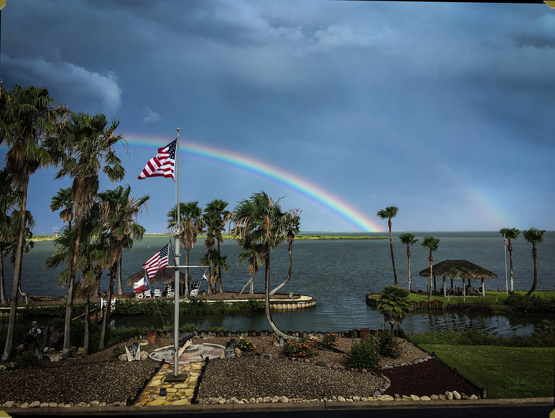 Rainbow Over Bay Harbor