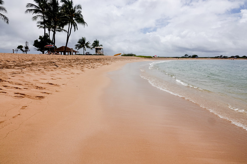 Poipu beach in Kauai