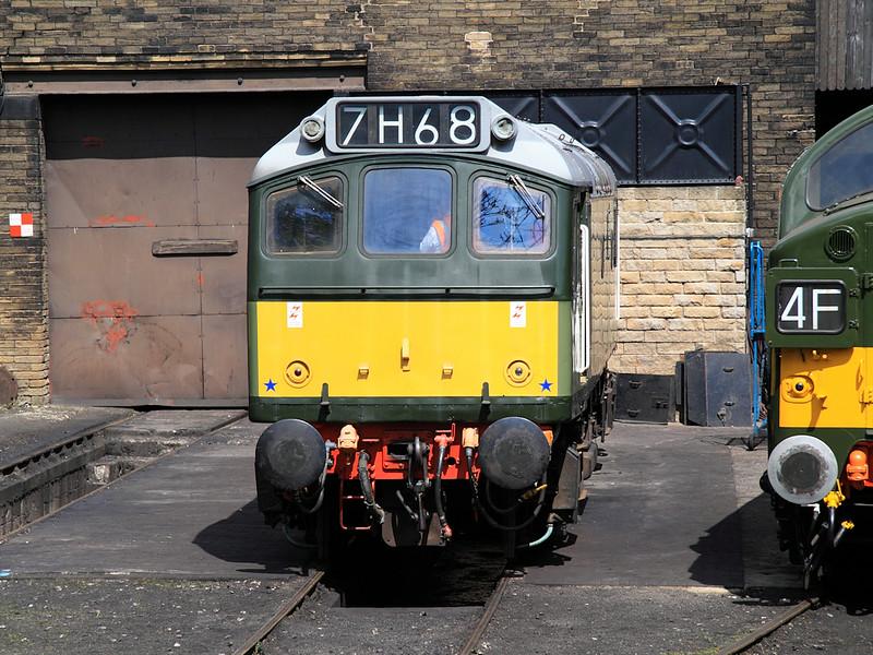 D7629 - Haworth MPD - 21st May 2011