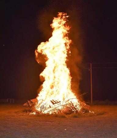 Homecoming Senior Bonfire 2018