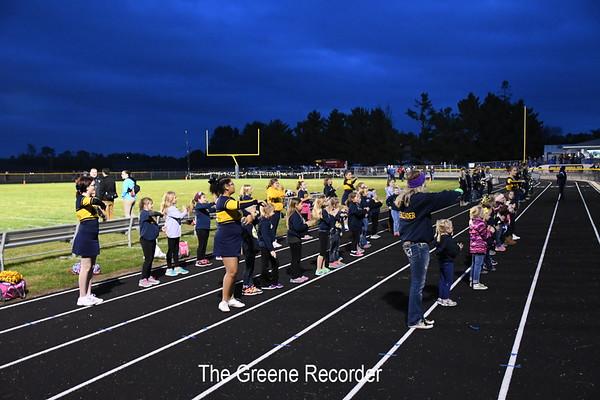 Football vs Grundy Center