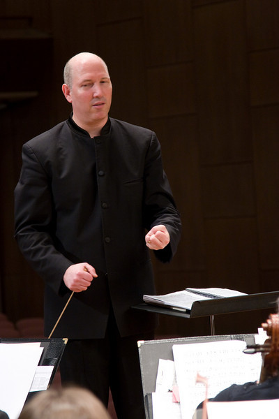 Jed Gaylin, Music Director -- Hopkins Symphony Orchestra, March 2008