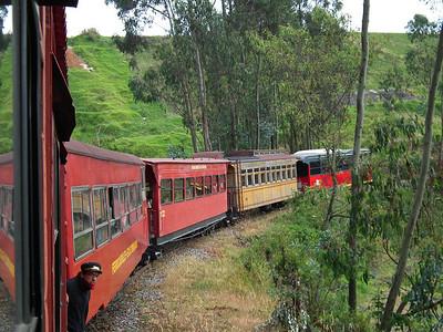 Train Ride to Quito to Boliche