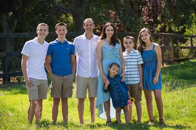 Amanda and Nick Family Portraits
