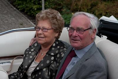 Gouden bruiloft Jan en Mitje 2009