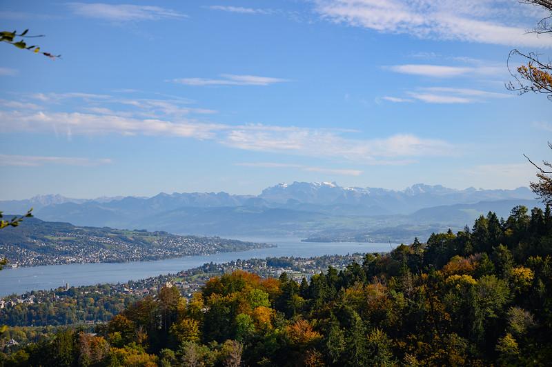 Lake Zürich view