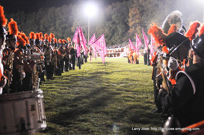 Jonesville Band Union City Game