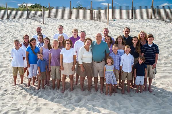 Kates Family Beach Portraits