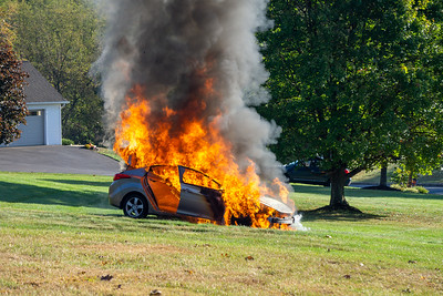 Freedom Valley Circle - Car Fire
