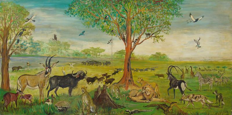 Quadro pintado por Dr. Luna de Carvalho oferecido ao Sr. Peles