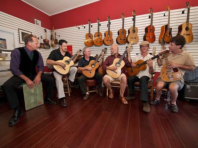 2009.09.18 Promotional photos for Ivan Najera & guitarists