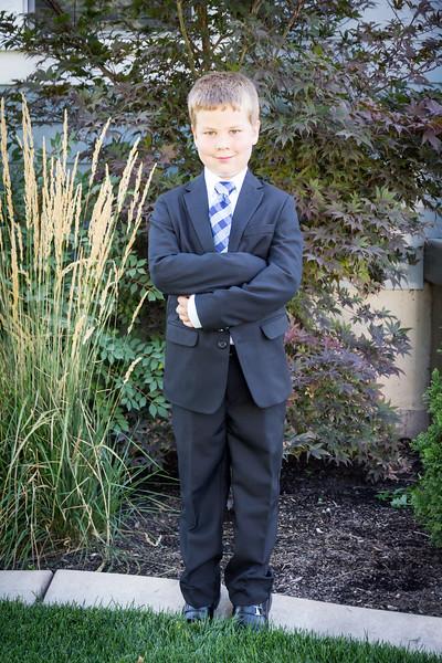 September 2018 - Caleb's birthday and baptism