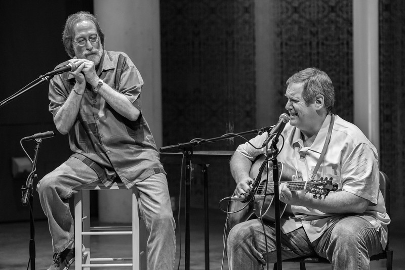 Billy Steiner and Tom Lieberman-The Acoustic Legends 2014 - Towne Green, Maple Grove