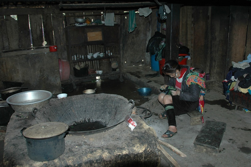 Black Hmong Village House - Sapa, Vietnam