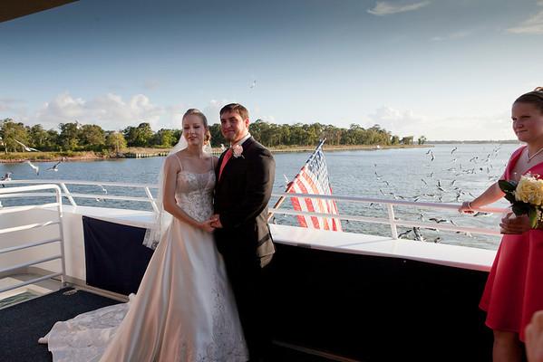 The wedding,Jennifer and Mike Regan