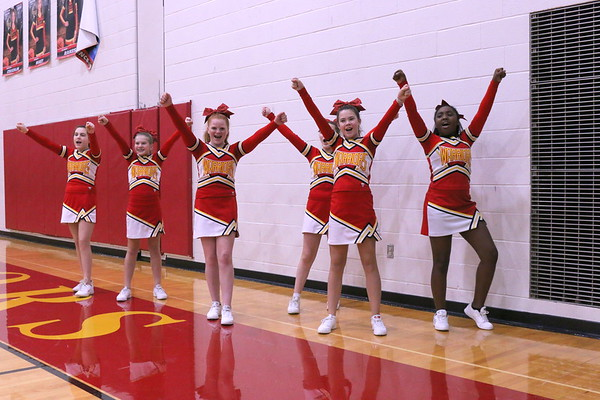 WCMS Boys Basketball and Cheerleading