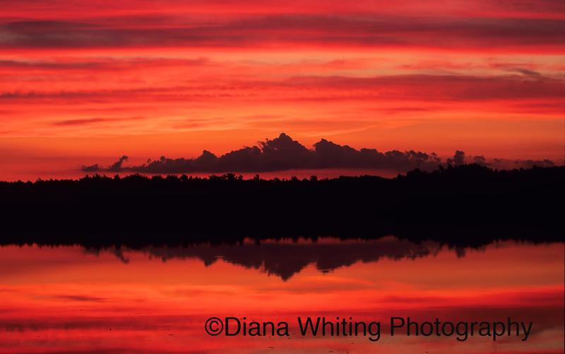 Beaver Lake Sunset