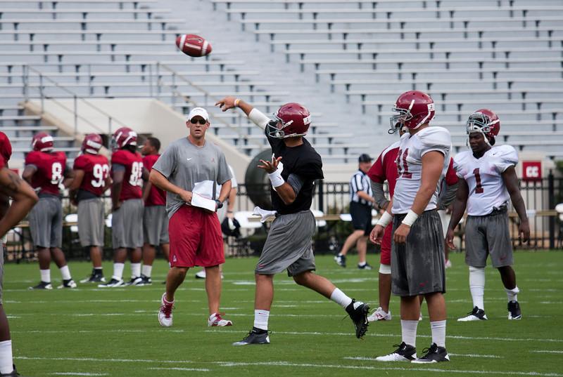 Fan Day Practice 8-5-2012