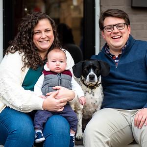 Madison & Ian's Family Portraits