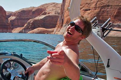 Seth Wagner at Lake Powell