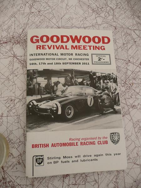 Goodwood Revival 2011 Program cover