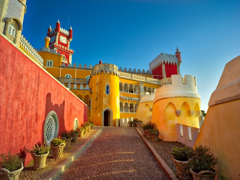 The Castle in Sintra