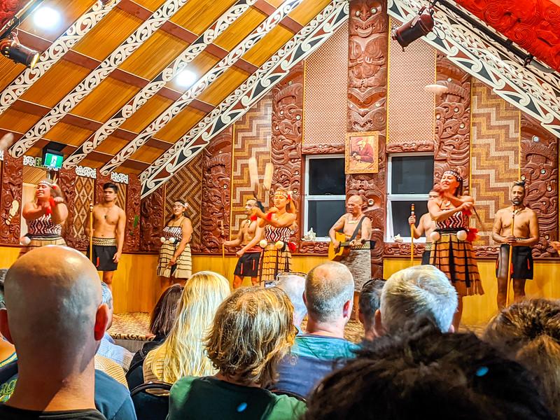 Maori cultural show at Te Puia