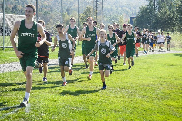 Cross Country Race at Kimball Union Academy