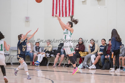 2019 Girls Basketball Eagle Rock vs Franklin 17Dec2019