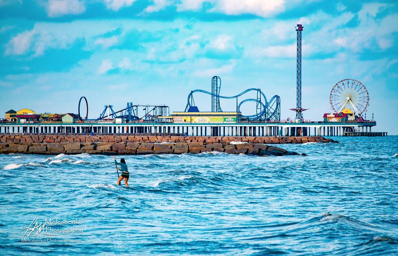 Galveston Beach Texas - Sep 2017