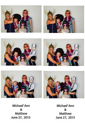 06.27.15 Michael'Ann & Matthew