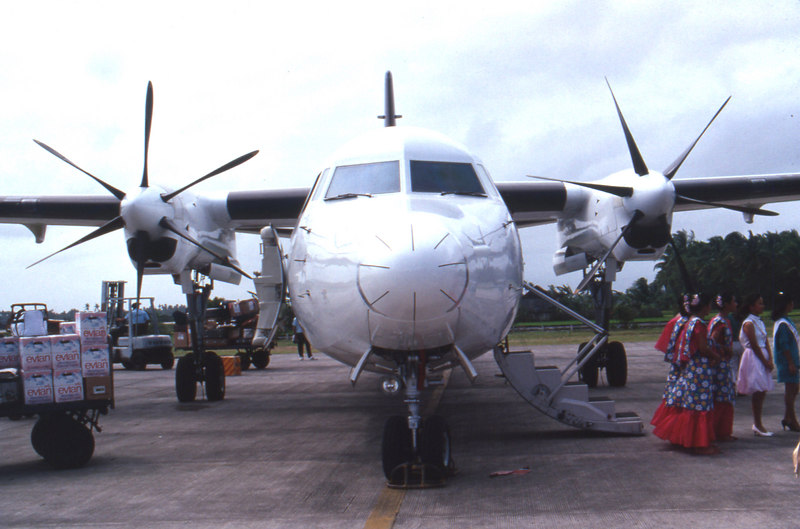 Our plane in Kalibo.