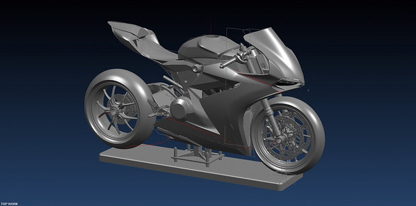 1199 Panigale Cad Design Drawings