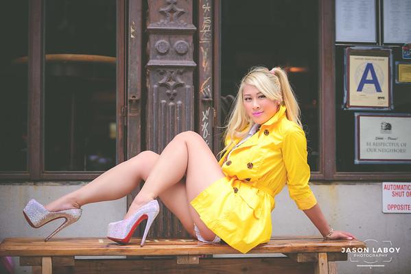 RX Barbie Summer Candid Street Portrait