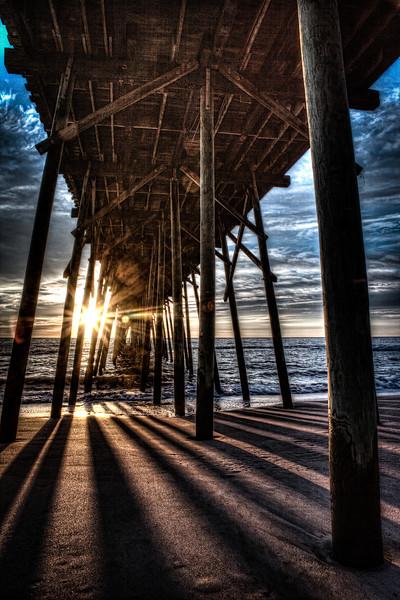 Kure beach sunrise at the pier (1 of 1).jpg