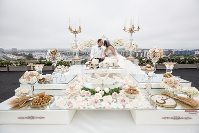 A Rooftop Wedding- Marina Del Rey