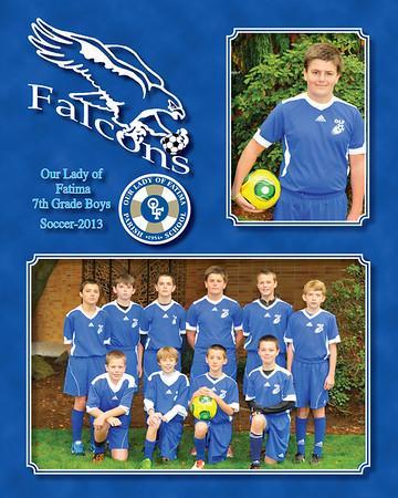 2013 soccer 7th Gr Boys