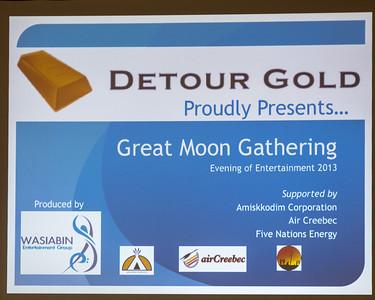 Great Moon Gathering Entertainment 2013