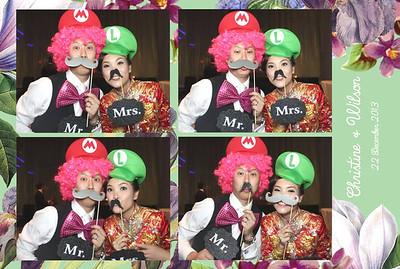 Christine & Wilson Wedding 22nd Dec 2013