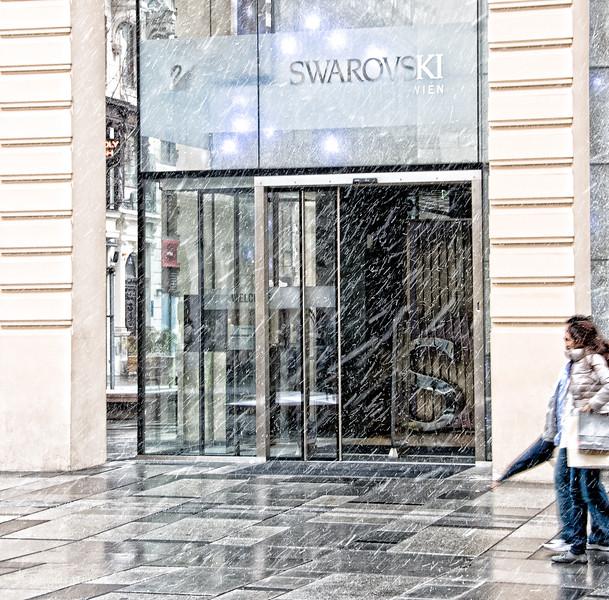 Swarovski store in Vienna