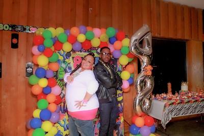 Boogie's  80's birthday party