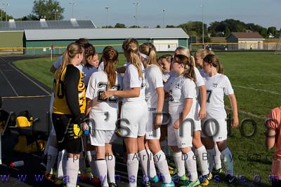 Hutch Girls Soccer vs GSL