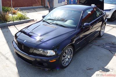 2003 BMW M3 Carbon Black - CQuartz Finest Reseve Ceramic Coating