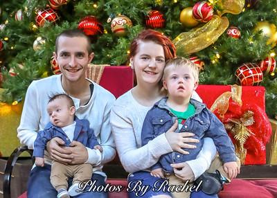 Chelsie & Travis' Family Christmas Photos 2016