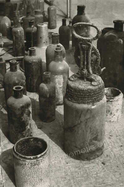 Old Bottles 1981 Gelabrome Print.jpg