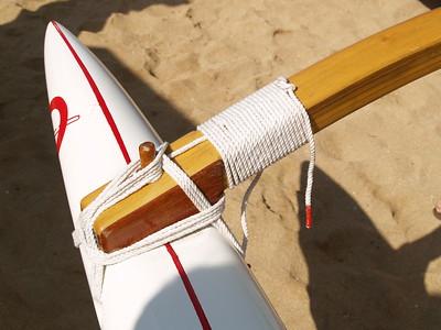 2013 Rigging an O6 Koa Racing Canoe 1-31-2013