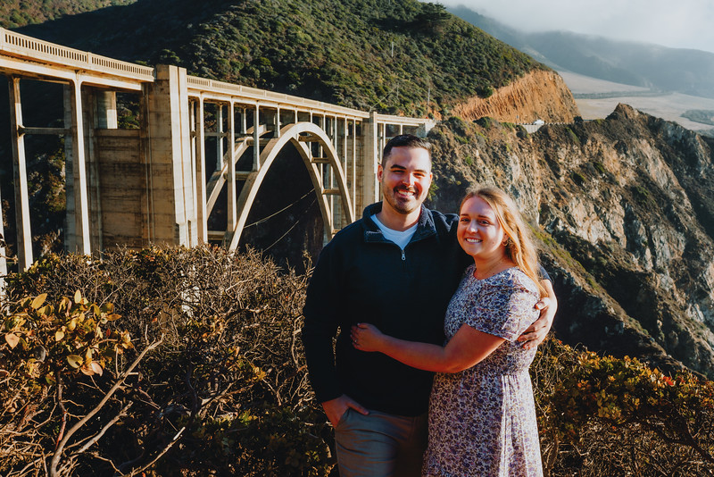 Jordyn + Andrew - Big Sur, Ca Engagement Session