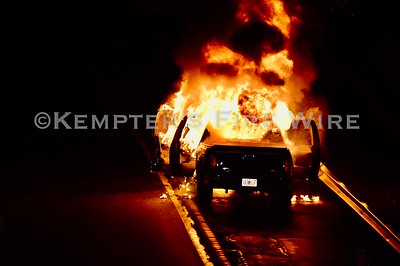 Vehicle Fire, Croton on Hudson, NY. Rt9 SB, 4/24/2020